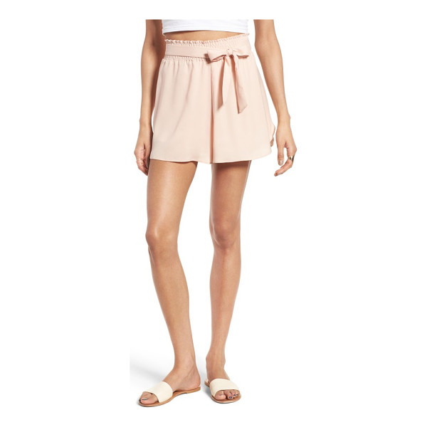 LEITH smock waist shorts - These feminine shorts are perfect for weekend brunch with...