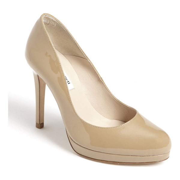 L.K. BENNETT 'sledge' pump - A perfectly sized platform brings elegant height to a...