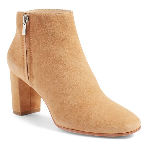 LOEFFLER RANDALL 'greer' zip bootie - This simple, elegant bootie is enveloped heel to toe in