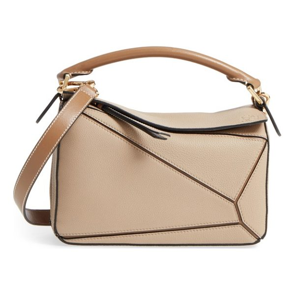 LOEWE small puzzle leather bag - One of Jonathan Anderson's first creations after taking the...