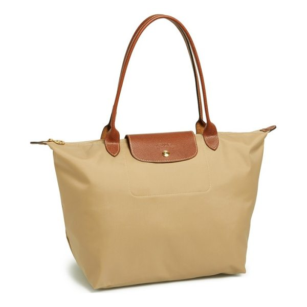 LONGCHAMP 'large le pliage' tote - A customer-favorite, water-resistant nylon tote is offered...