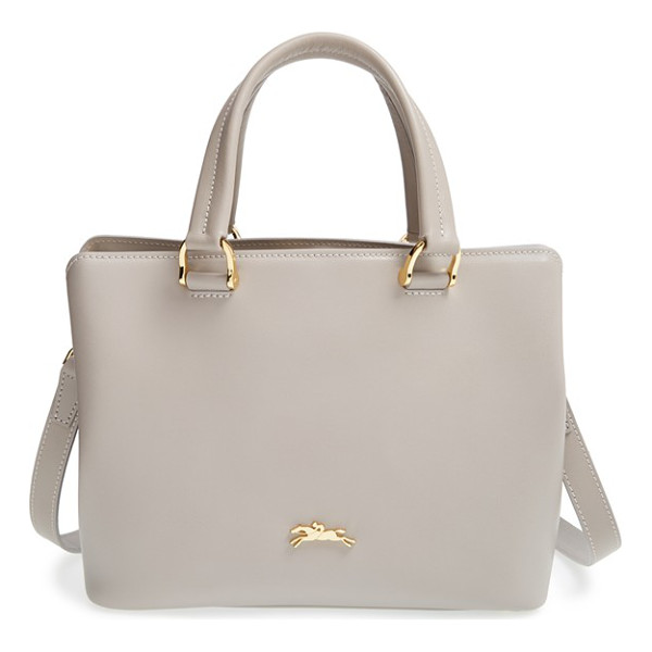 LONGCHAMP Small honore 404 leather tote - A signature racehorse and jockey brand a structured leather...