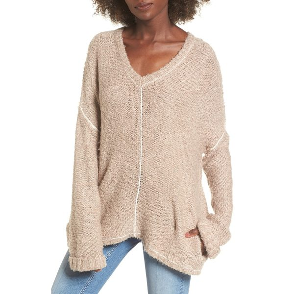 LOST AND WANDER voyage knit sweater - Knit from fluffy boucle yarn for a supersoft hand, this...