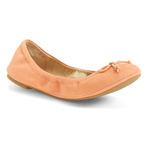 LUCKY BRAND eadda flat - A classic flat is shaped with an elasticized topline for a...