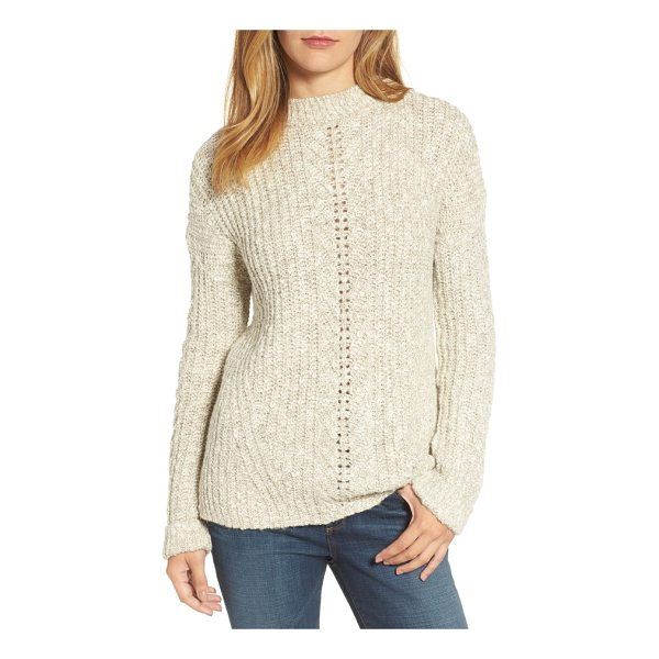 LUCKY BRAND open stitch sweater - The kind of pullover that makes you glad it's Sweater...