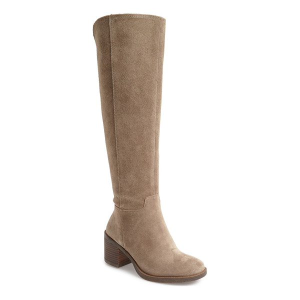 LUCKY BRAND ritten tall boot - A streamlined silhouette elongates your leg as you step out