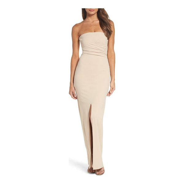 LULUS own the night strapless maxi dress - This sophisticated strapless gown is designed with a...