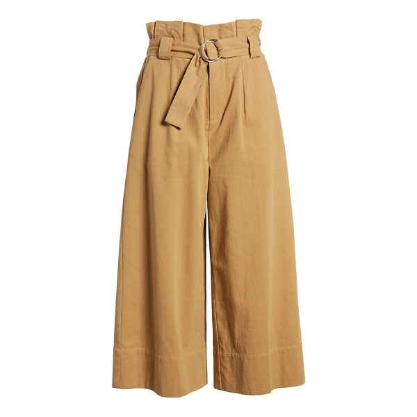 LUSH paperbag waist crop pants - The question isn't what won't pair beautifully with these...