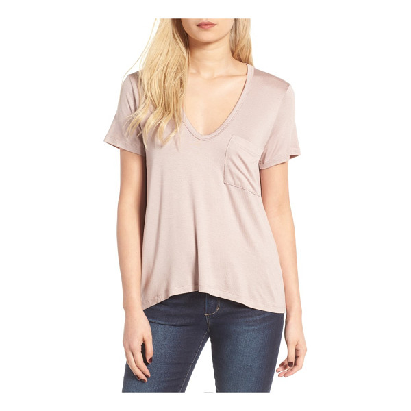 LUSH deep-v neck tee - The search for the perfect tee stops here, so stock up on...