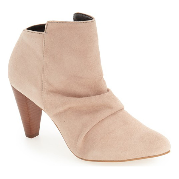 M4D3 FOOTWEAR m4d3 'rochelle' slouchy bootie - A perfectly slouchy instep and a gorgeous tapered heel keep...