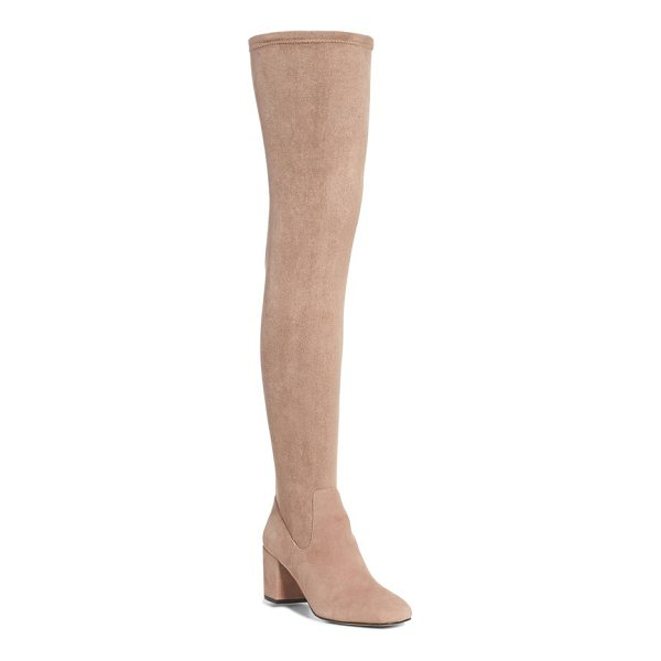 M4D3 FOOTWEAR m4d3 sobrina over the knee boot - Make a statement in this over-the-knee boot made from...