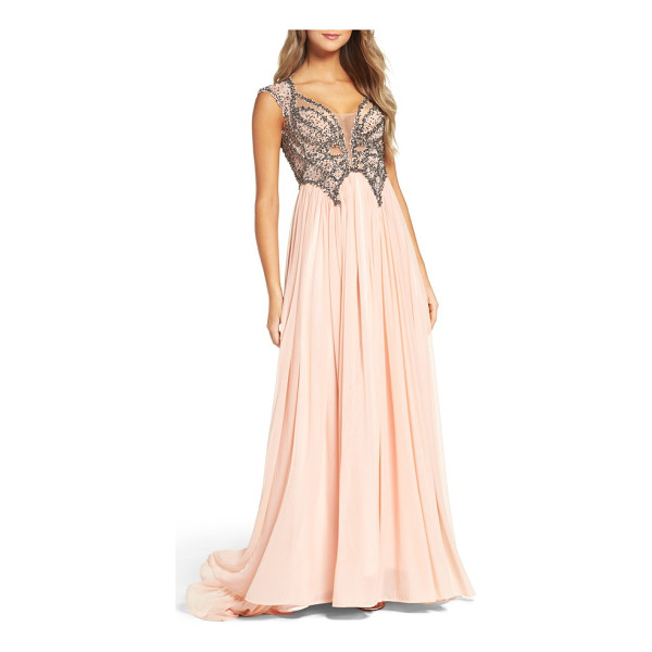 MAC DUGGAL beaded gown - Making all of your fairytale princess dreams come true.