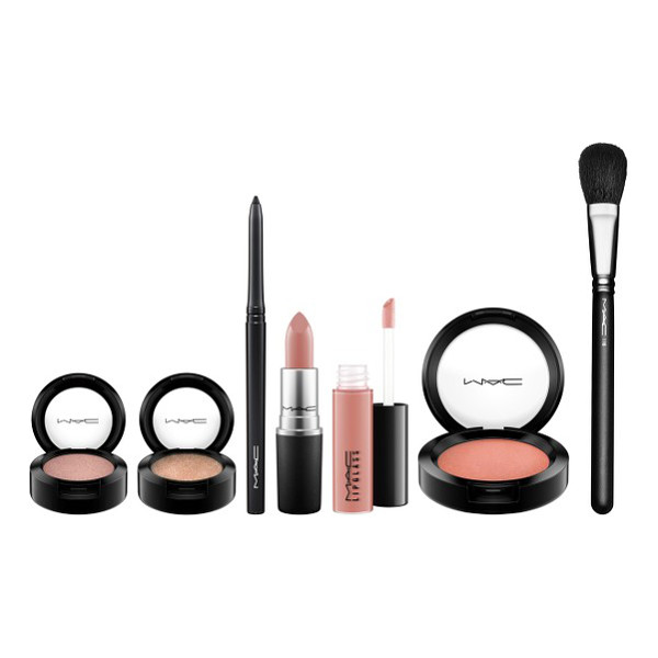 MAC look in a box natural flare collection - Get a complete look to make your holiday makeup a breeze