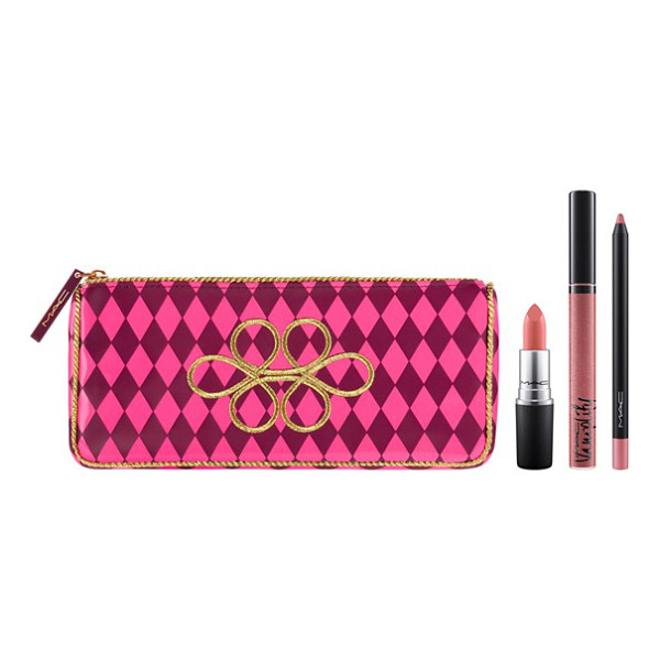 MAC Nutcracker sweet nude lip kit - What it is: Lips look dreamy with this limited-edition...