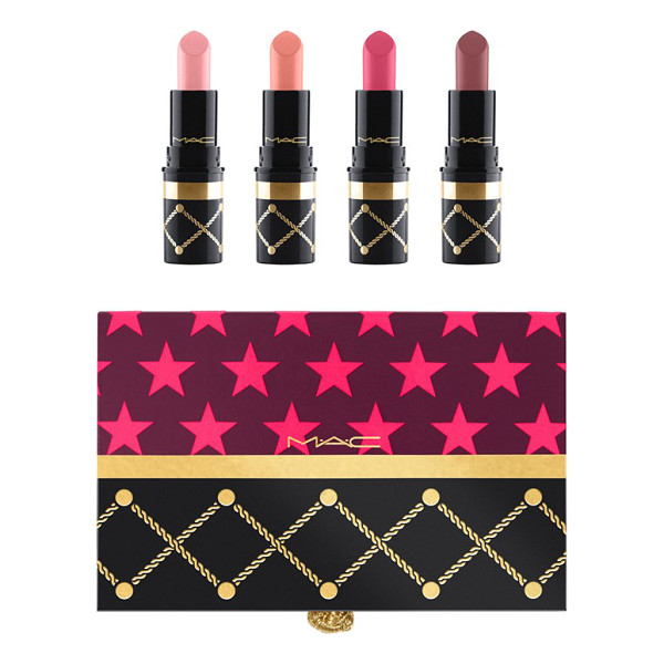 MAC nutcracker sweet nude mini lipstick kit - What it is: A limited-edition collection of mini lipsticks,