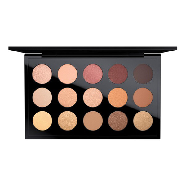 MAC 'warm neutral times 15' eyeshadow palette - A palette of 15 exquisite shades of long-wearing, highly...
