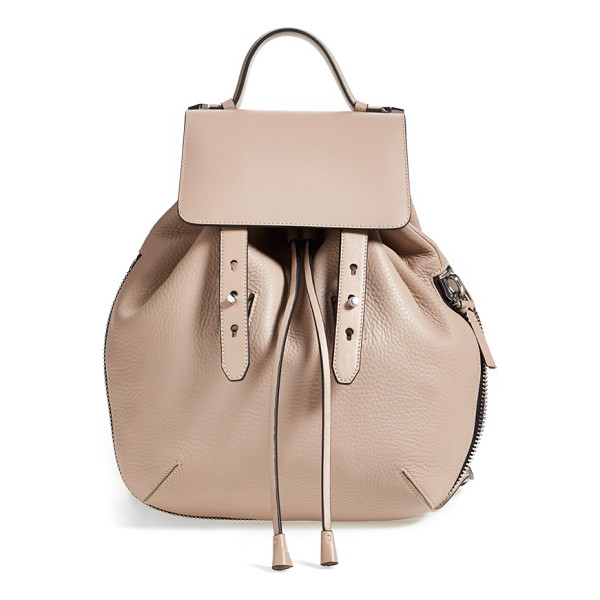MACKAGE Bane convertible leather backpack - This versatile Mackage backpack offers a street-savvy...