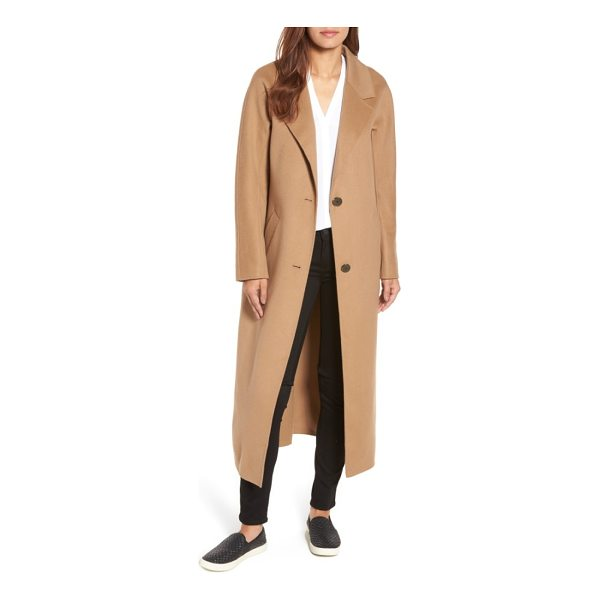 MACKAGE adriana wool reefer coat - Cut with a long, maxi-length silhouette and classic...