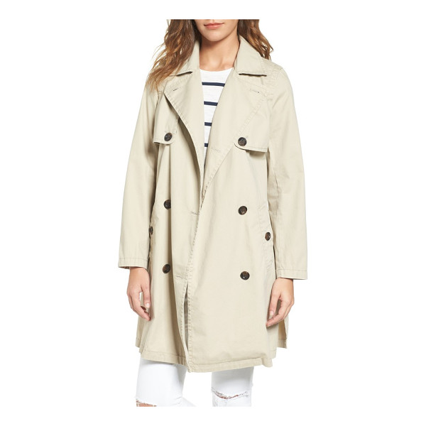 MADEWELL abroad trench coat - Whether it's raining or not, this lightweight cotton trench...