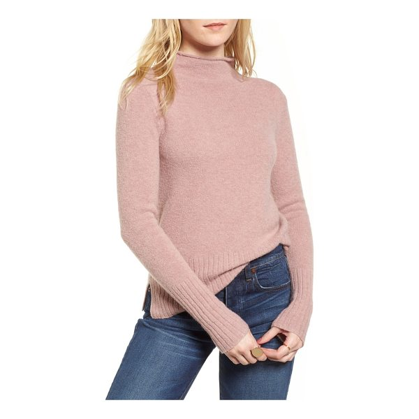 MADEWELL inland rolled turtleneck sweater - A lightweight, cozy turtleneck knit with a sumptuous touch...