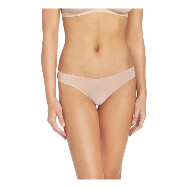 MADEWELL skin mesh thong - The perfect everyday thong cut from barely there micro...