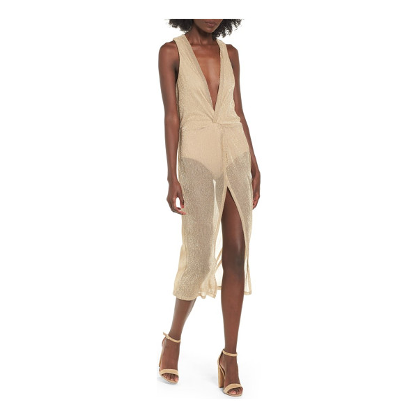 MAJORELLE copacabana midi dress - Styled with an elegantly twisted front, this easy-fitting...