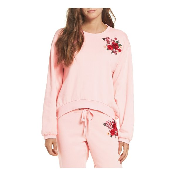 MAKE + MODEL embroidered sweatshirt - Lounge around in the complete comfort of this soft, boxy...