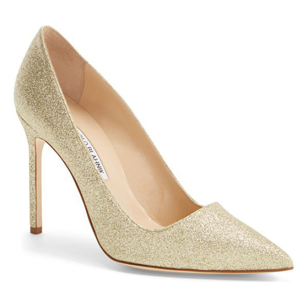 MANOLO BLAHNIK bb pointy toe pump - The iconic pointy-toe pump is refreshed in a smart range of...