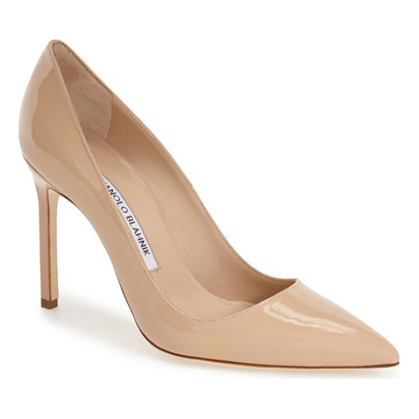 MANOLO BLAHNIK bb pointy toe pump - Simply gorgeous: A classic pointy-toe pump available in a...