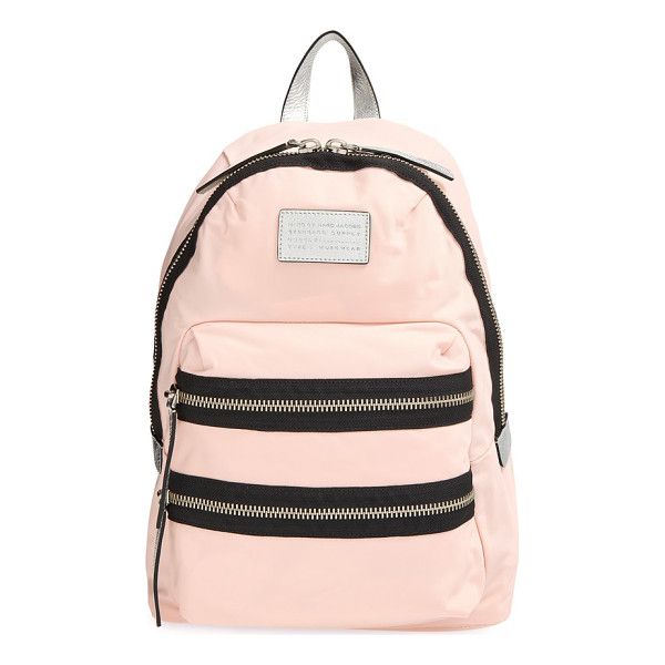 MARC BY MARC JACOBS Domo arigato packrat backpack - Bold zips add a modern spark to a classic design. The main...