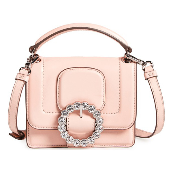 MARC BY MARC JACOBS The box crossbody bag - MARC BY MARC JACOBS' timeless sensibility is evident in a...