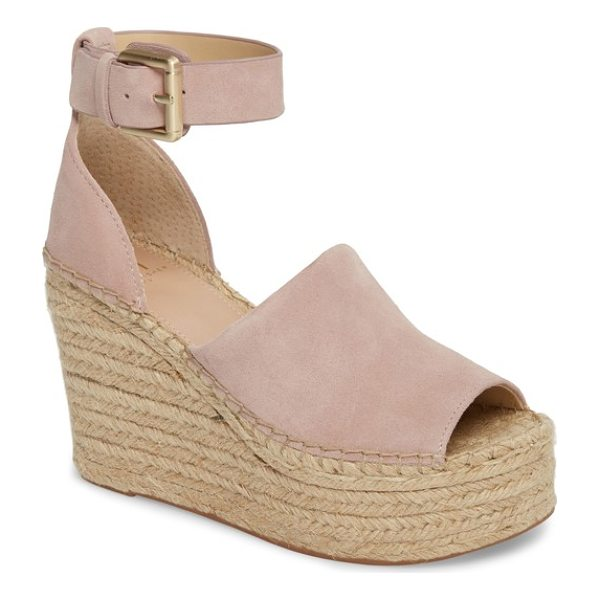 MARC FISHER LTD 'adalyn' espadrille wedge sandal - Take your sandal to new heights with Marc Fisher's Adalyn...