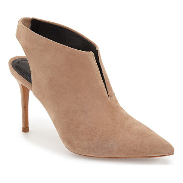 MARC FISHER LTD Marc fisher talia bootie - An elongated pointy toe defines an ultrachic bootie shaped...