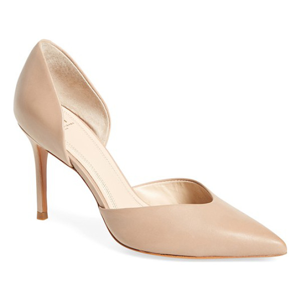 MARC FISHER LTD 'tammy' d'orsay pump - A low-cut, notched vamp brings a modern touch to a classic...