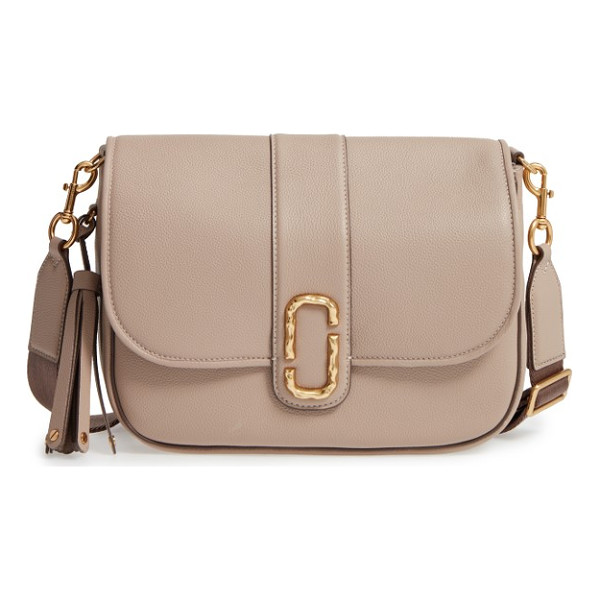 MARC JACOBS interlock leather crossbody bag - Taking inspiration from couriers' messenger bags, this chic...