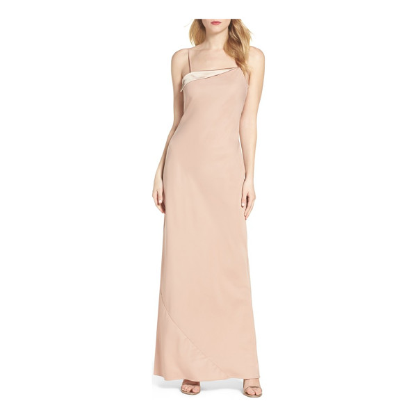 MARIA BIANCA NERO sandy a-line gown - Bias-cut angles modernize a classically alluring slipdress...
