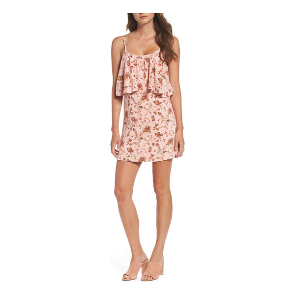 MARY & MABEL popover dress - A flowy floral dress to celebrate the warmer weather to...