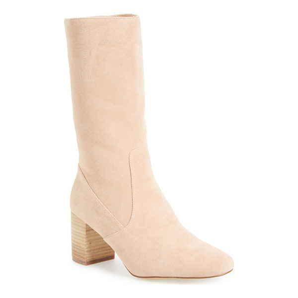 MATISSE babe mid-calf boot - This essential boot is crafted from soft, unadorned suede...