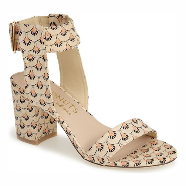 MATISSE Coconuts by  lupe ankle strap sandal - Pretty print fabric livens up a breezy ankle-strap sandal...
