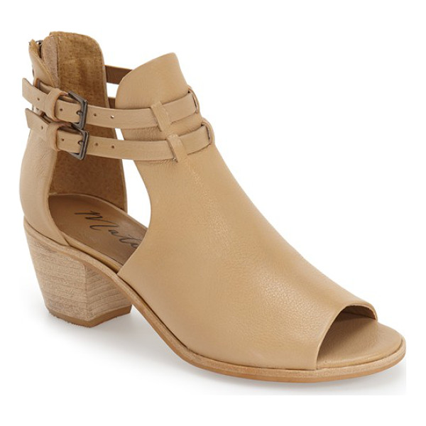 MATISSE columbia cutout bootie - Summer-ready cutouts upgrade an on-trend bootie with an...