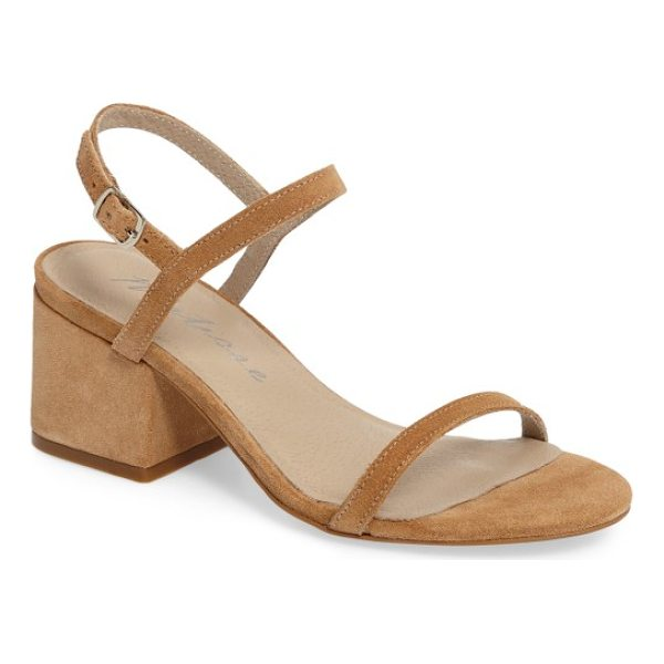 MATISSE stella block heel sandal - A squared block heel gives trend-friendly lift to a classic...