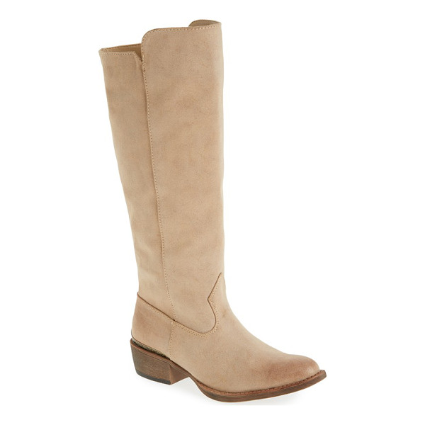 MATISSE ventura tall boot - Relax your look with a classic Western-style, knee-high...