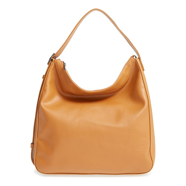 MATT & NAT Glance vegan leather shoulder/crossbody hobo - The convertible strap on a lightly pebbled hobo made from...