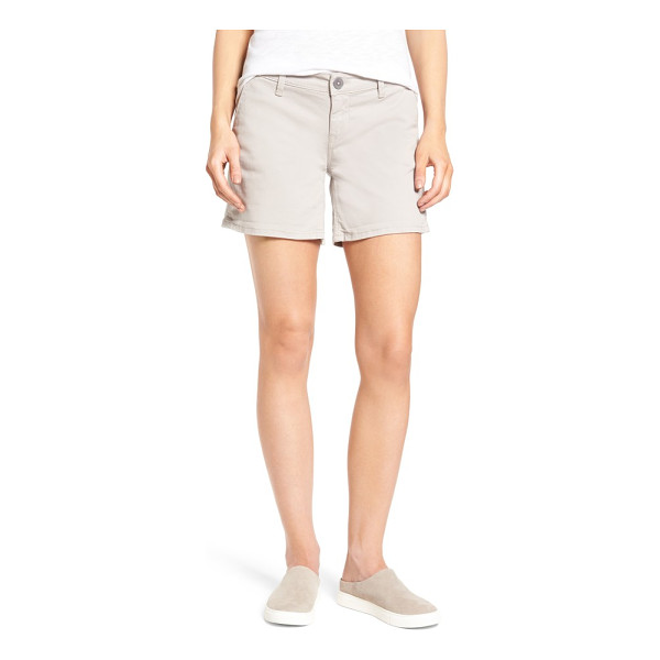 MAVI JEANS vienna stretch twill shorts - Classic five-pocket styling defines soft stretch-twill...