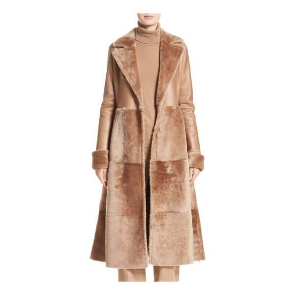 MAX MARA rimini genuine shearing coat - A statement piece designed to be worn for years to come,...