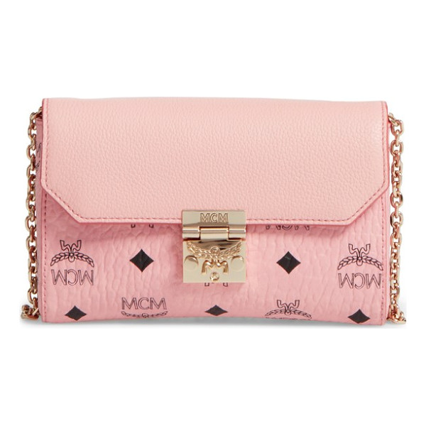 MCM millie visetos crossbody bag - Wear it crossbody, double up the optional chain strap for...