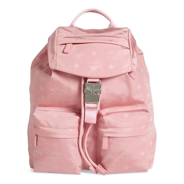MCM small dieter monogrammed nylon backpack - A monogrammed backpack looks chic while being...