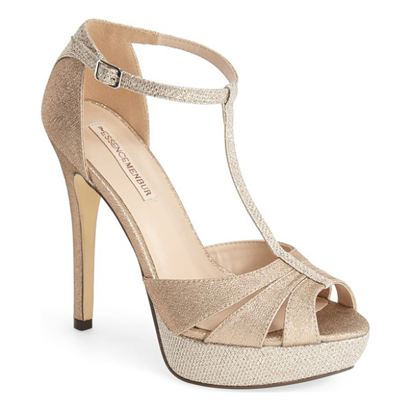 MENBUR 'albendin' t-strap sandal - Ready for any celebration, the T-strap Albendin sandal gets...