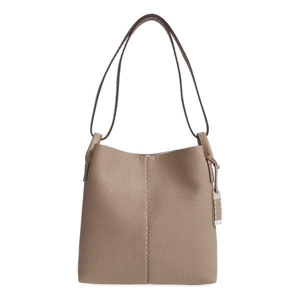 MICHAEL KORS Medium rogers leather hobo - Hand-stitched details and logo-etched hardware refine a...