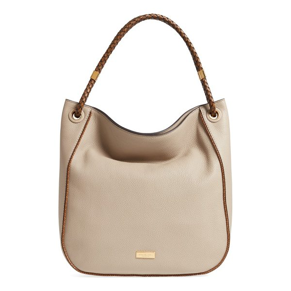 MICHAEL KORS skorpios leather hobo - A spacious hobo with a slightly slouchy silhouette is cut...